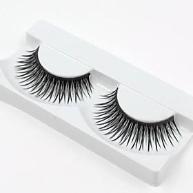 Hot Sale 1 Pairs Natural Black Long Thick False Eyelashes Eyelash Eye Lashes for Eye Extensions