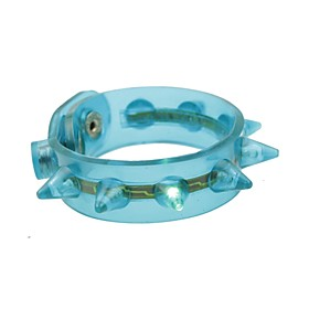 fuhrte blinkendes Armband Design Plastikpartei LED-Licht-Stick (zufallige Farbe x1pcs)