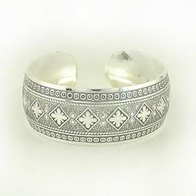 1pcs fashion geschnitzt Silber Armband N0.6