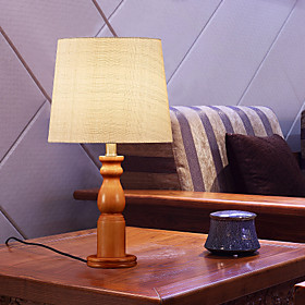 Table Lamp Country Style Wooden