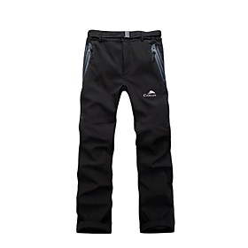 Cikrilan Men Outdoor  Pants/Bottoms Thermal / Warm/Windproof/Waterproof/Rain-Proof/High Breathability Winter/Autumn/Spring Camping  Hiking