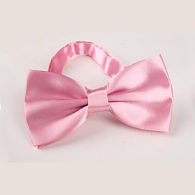 Unisex Party / Work / Basic Polyester Bow Tie - Solid Colored 2294637