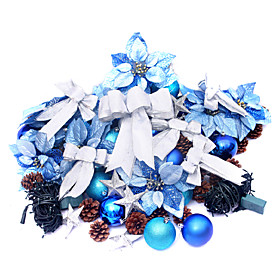Christmas Ornaments series For 60inch Christmas Tree ,Plastic