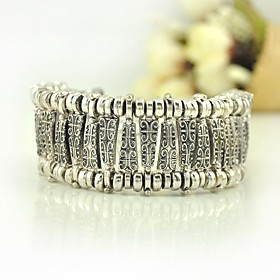 Vintage Tibetan Silver Gypsy Love Carving Bracelets Retro Gold And Silver Plated Bracelets (More Colors)