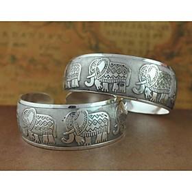 1pcs fashion geschnitzt Silber Armband n0.4