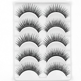 Eyelash Extensions Makeup Tools False Eyelashes 10 pcs Volumized Natural Thick Fiber Daily Thick Natural Long - Makeup Daily Makeup Party Makeup Cosmetic Groom