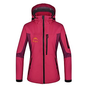 Dames 3-in-1 jacks / Damesjack / Winterjack Skiën / KamperenWandelenWaterdicht / Houd Warm / Winddicht / Fleece voering / Uitneembare