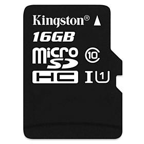 Kingston Digital 16 GB Class 10 Micro SD SDHC TF Flash Memory Card High Speed Genuine