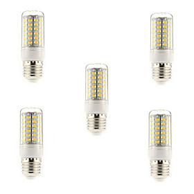 5W E14 G9 E26/E27 LED Corn Lights T 69 SMD 5730 450 lm Warm White Cool White AC 220-240 V 5 pcs