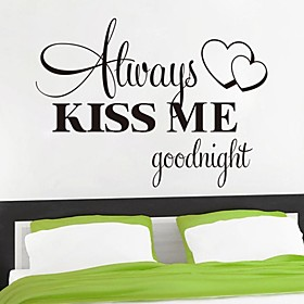 Words  Quotes Wall Stickers Plane Wall Stickers Decorative Wall Stickers Material Removable Home Decoration Wall Decal
