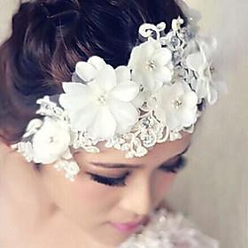 Women's Lace Headpiece-Wedding Flowers