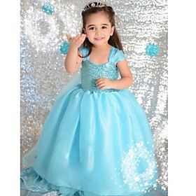 printemps et en automne princesse robe robe robe à manches longues et un châle deux pièces les jeux de fille