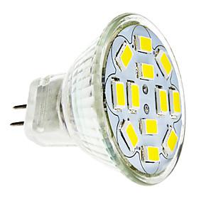 2W GU4(MR11) LED Spotlight 12 leds SMD 5730 Warm White Cold White 240-260lm 3500/6000K DC 12V