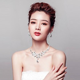 Jewelry Set Women's Anniversary / Wedding / Engagement / Birthday / Gift / Party / Daily / Special Occasion Jewelry Sets Titanium 2603112