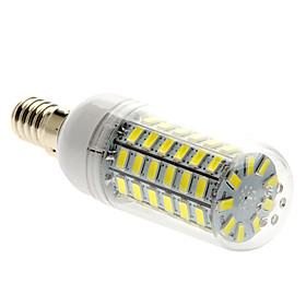 5W E14 LED Corn Lights T 69 SMD 5730 450 lm Natural White AC 220-240 V