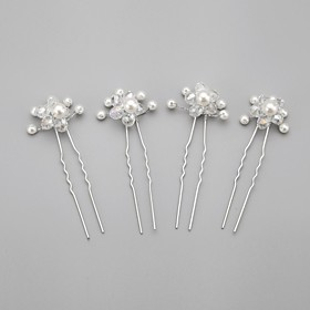 Imitation Pearls Wedding/Special Occasion Hairpins (Set of 4) 2640864