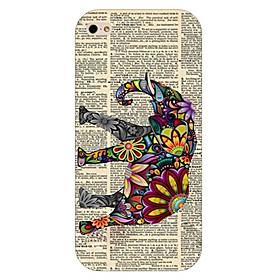 $Για Θήκη iPhone 6 / Θήκη iPhone 6 Plus Με σχέδια tok Πίσω Κάλυμμα tok Ελέφαντας Σκληρή PC iPhone 6s Plus/6 Plus / iPhone 6s/6