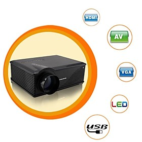 HD LCD Theater Business Projector 3500lm 1280x800 with HDMI2 VGA TV AV USB2 S-Video(PH580S)