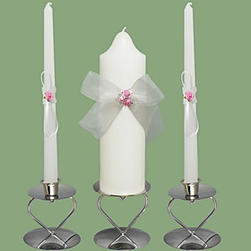 Garden Theme Candle Favors Piece / Set Candles Non-personalised White