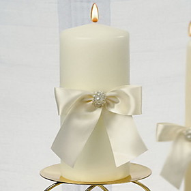 Candle Favors Piece / Set Candles Non-personalised White