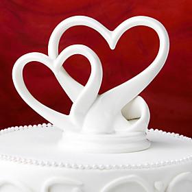 Beautiful Cake Topper Ceramic With Gift Box Elegant Wedding Reception 2713035