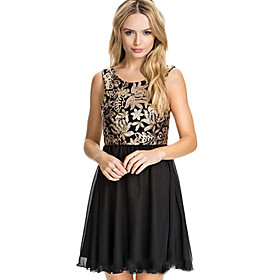 Cocktail Party Dress Ball Gown Square Dress