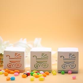 Baby Shower Party Favors  Gifts-12Stuk/Set Bedank Doosjes Kaart Papier Klassiek Thema / Sprookjes Thema Kubusvormig Niet-gepersonaliseerd