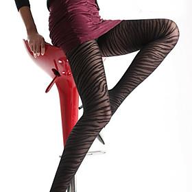 Women's Zebra Design Thin Pantyhose