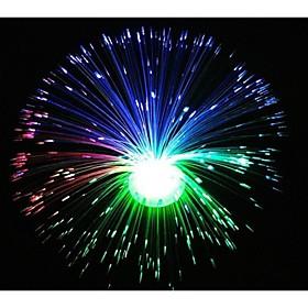 Wedding Décor Color Changing LED Fiber Optic Nightlight Lamp for
