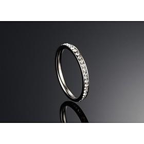 Ringen Dames Titanium Titanium 5 / 6 / 7 Zilver