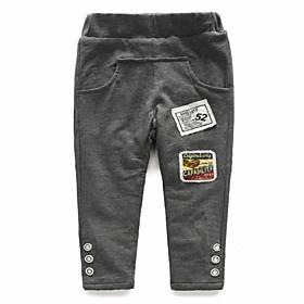Pantalones ( Algod? - Micro-el?ica - Mediano BOY