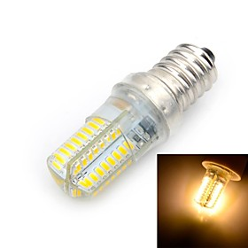 Marsing E14 6W LED Bulb Warm White Light 3000K 600lm SMD 3014 - White  Yellow (AC 220V)
