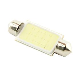 41mm 3W COB LED 200lm Cold White Light Dome Festoon Reading Bulb Lamp for Car (DC 12V)