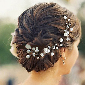 Pearl Wedding Headpieces Hairpins