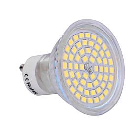 6W GU10 Точечное LED освещение 60 SMD 2835 540 lm Тёплый белый / Холодный белый