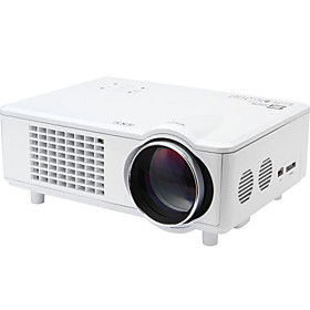 Snbole Mini LED 3D Home Theater Business Projector 3000 Lumens 1280x800 1080p VGA USB SD HDMI Input T928S