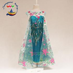 Girl's Summer Princess Thin Sleeveless Dresses (Cotton Blends)