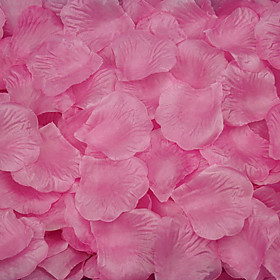 Set of 100 Petals Rose Petals Table Decoration (Assorted Color) Peacock Wedding