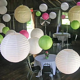 Wedding Décor 8 Inch(20cm) Chinese Lantern for  Baby Shower Birthday Decoration