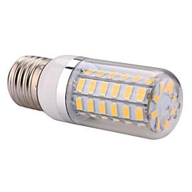 E27  12W 56x5730SMD 1200LM 2800-3200K /6000-6500K Warm White/Cool White Light LED Corn Bulb  (AC 110-130V/AC 220-240V)