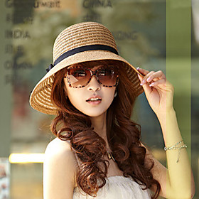 Women's Holiday Sun Hat - Solid Colored 3457351