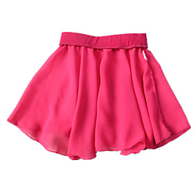 Chiffon Made Pull-on Skirts for Ballet Dancing More Colors for Girls and Ladies plus size,  plus size fashion plus size appare