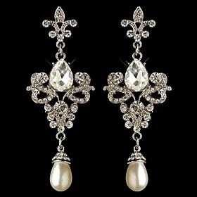 Carbonneau Gorgeous Vintage Chandelier Wedding Earrings For Women