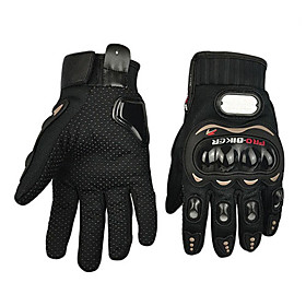 PRO-BIKER Professional Skid-Proof Full Finger Motorcycle Racing Gloves 3409045