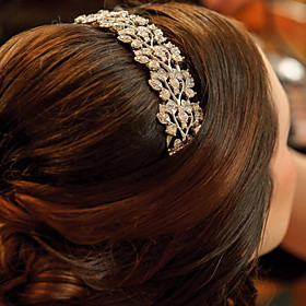 Vintage Wedding Party Bridal Bridesmaid Round Diamond Section IV activity Hair Comb For Women plus size,  plus size fashion plus size appare