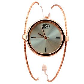Damenuhr Armband Wirbelwind Kreis style Goldlegierung