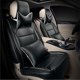 Image of Automobile Seat Cushion Pad 5 Seasons General Leather Cushion Seat Models - Seat Cushion Length Of About 135 Cm Size