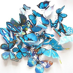 The Simulation Butterfly Stereoscopic Wall Stickers