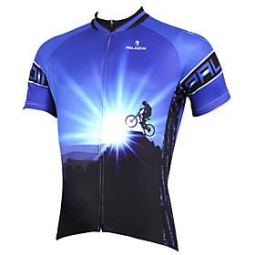 PALADIN Cycling Jersey Men's Short Sleeve BikeBreathable / Quick Dry / Ultraviolet Resistant / Compression / Lightweight Materials /