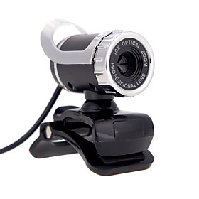 Discount Electronics On Sale 2015 New USB 2.0 12 M HD Camera Web Cam 360 Degree with MIC Clip-on for Desktop Skype Computer PC Laptop
